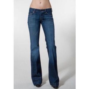 CITIZENS OF HUMANITY FAYE 003 WIDE LEG FLARE JEANS